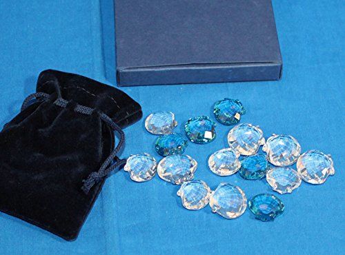 Swarovski Crystal Figurine, Miniature Scallops, 833575