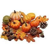 winemana Thanksgiving Artificial Pumpkins Home