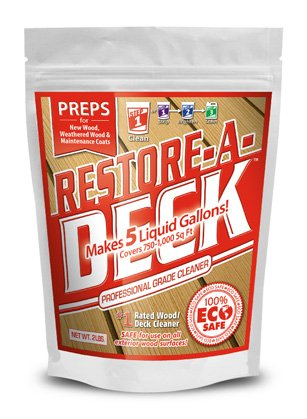 Restore-A-Deck Wood Cleaner by Restore-A- Deck