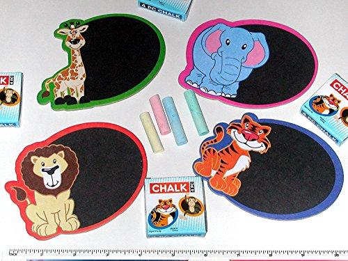 Safari Mini Chalkboard Magnet Sets