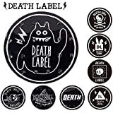 DEATH LABEL/デッキパッド STOMP CIRCLE PAD 滑り止め スノーボード デッキパット 板 メール便 290円 LOGO-2