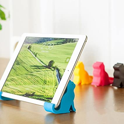 Mini Cat Shape Phone Tablet Mounts Stand Holder Tool for Cell Phone LFOEwpp7 Cute Phone Holder