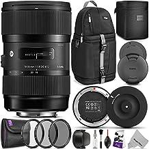 Sigma 18-35mm F1.8 Art DC HSM Lens for NIKON DSLR Cameras w/ Sigma USB Dock & Advanced Photo and Travel Bundle
