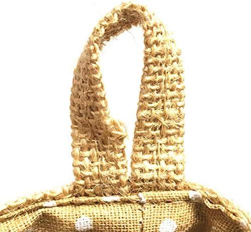 Bolsa de almacenamiento de pared de color marr/ón Peque/ña bolsa de almacenaje para colgar tama/ño 14/x 12,5/cm Doitsa