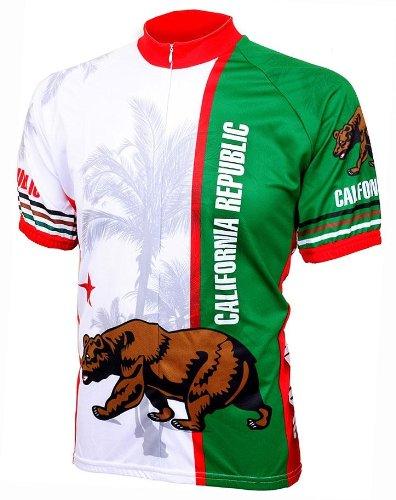 Buy World Jerseys California Flag Jersey White/Green XLarge Online ...