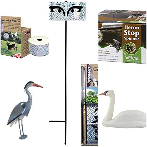 Ultimate Large Pond Protection Kit, Deter Herons, Geese and Other Pests