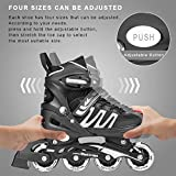 Woolitime Sports Adjustable Blades Roller Skates
