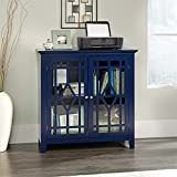 Sauder Shoal Creek Display Cabinet in Indigo Ink