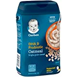 Gerber Baby Cereal DHA and Probiotic Oatmeal Baby