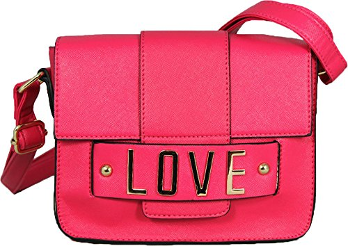 8990fa0702 Miss Melody - Borsa a tracolla Ragazza donna, (Rose), S: Amazon.it ...