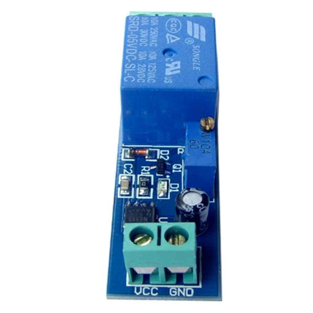 Lorsoul NE555 5 V Retard 0-10 deuxi/ème temporisateur commutateur Relais r/églable Module Max /Équipement de contr/ôle 2200W Voyant Lumineux