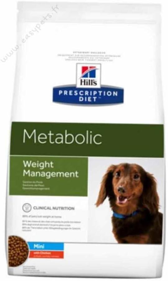 Hill's Prescription Diet - Metabolic - Comida para Perro para Razas pequeñas, croquetas