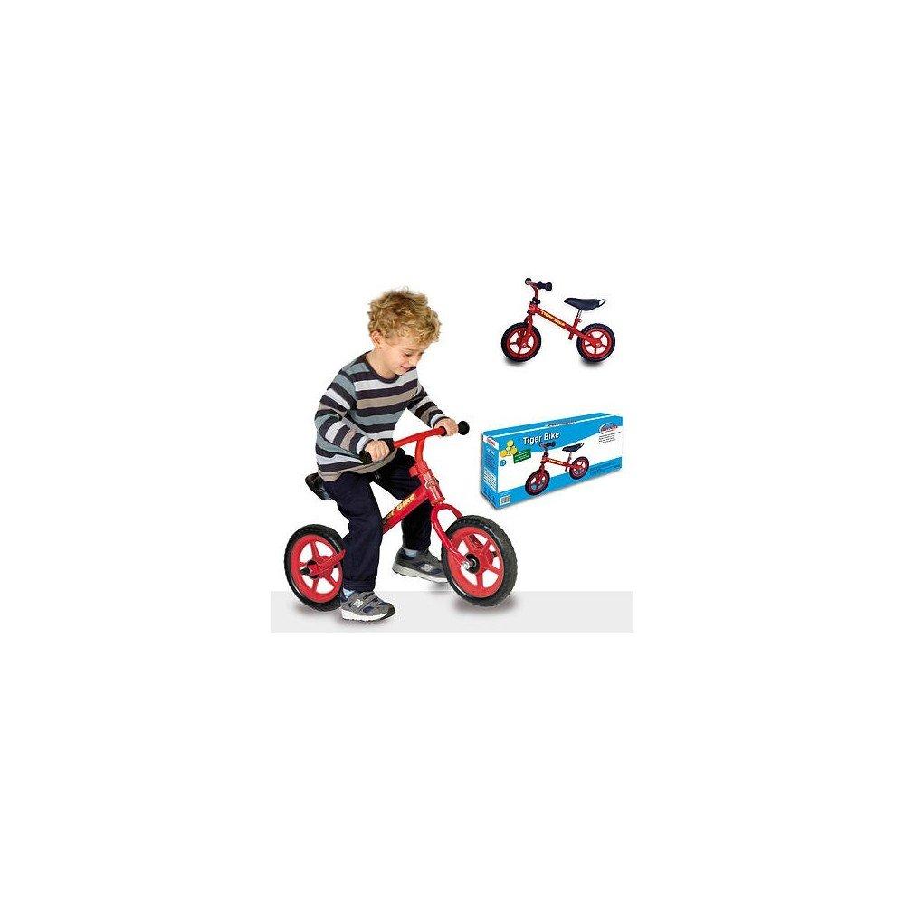 Fahrrad Tiger Bike ohne Pedale BIEMME Spiele Fahrrad für Kinder Kinder Spiel ro