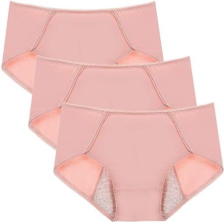 HAODEE Bragas Algodon Altas Bragas Mujer Braguita Hipster Bragas de Las Mujeres Stretch Cobertura Pantalones Sexy Acogedor Ropa Interior Pink,l: Amazon.es: Hogar