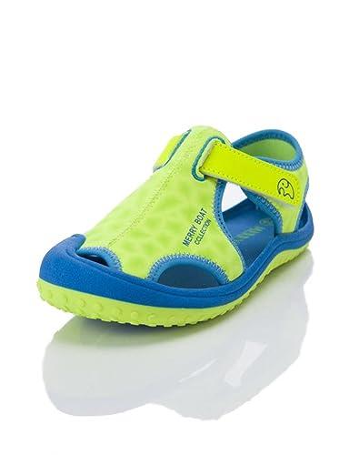 35bbb4367d50 HILEELANG Kids Boy Girl Soft Light Weight Closed Toe Sport Sandals Beach  Shoes (Toddler/