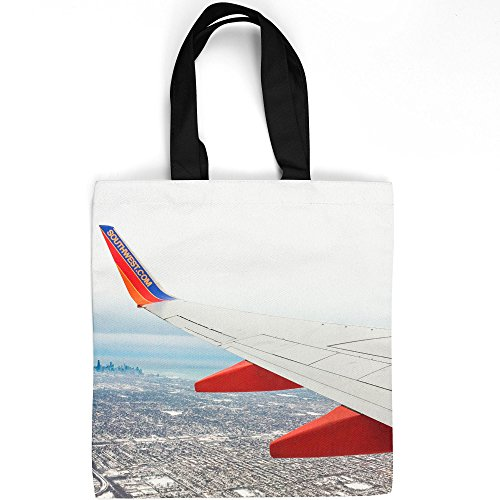Reviews/Comments Westlake Art - Plane Next Tote Bag Fashionable Picture Photography Shopping Travel Gym