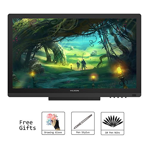 Huion KAMVAS GT-191 Digital Graphics Drawing Monitor 8192 Pen Pressure 19.5 Inch HD Pen Display for Windows and Mac PC by Huion