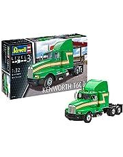 """Revell RV07446 Modelbouwset 07446 """"Kenworth T600, vrachtwagen, Amerikaanse truck op schaal 1:32, niveau 3, getrouwe replica met vele details, multicolour"""