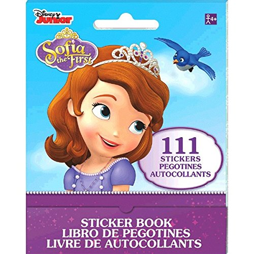 Disney Sofia the First Sticker Booklet Party Favour,