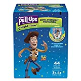 Pull-Ups Night-Time Potty Training Pants for Boys, 3T-4T (32-40 lb.), 44 Ct. (Packaging May Vary)
