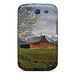 Durable Settler's Barn Back Case/cover For Galaxy S3
