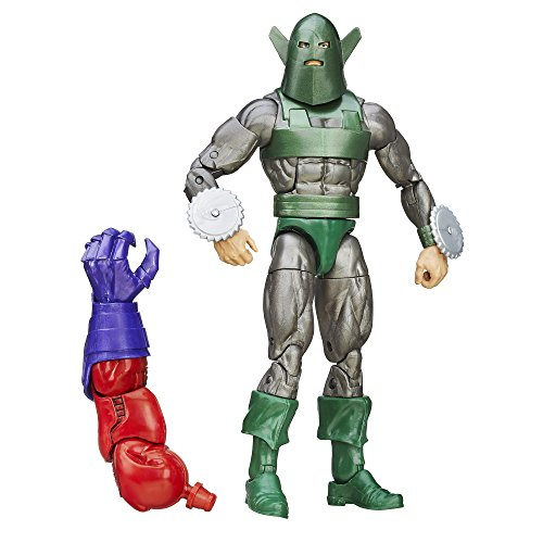 Marvel 6 Inch Legends Forces of Evil Whirlwind Action Figure (Build Red Skull)