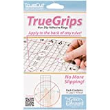 The Grace Company True Grips Non-Slip Adhesive Rings, 15 Large and 15 Small