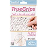 Crafters Workshop TrueCut Non Slip Adhesive Rings , 15 Large + 15 Small Per Package
