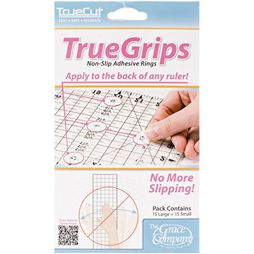 (Crafters Workshop TrueCut Non-Slip Ruler Grips, 30/Pkg)