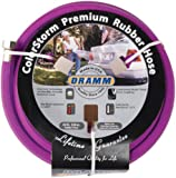 Dramm 17006 ColorStorm Premium 50-Foot-by-5/8-Inch Rubber Garden Hose, Berry