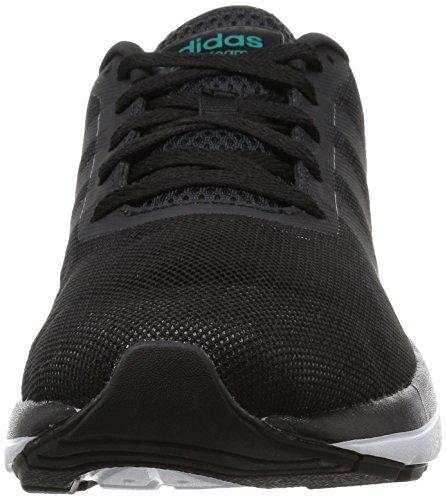 Adidas Mens Cloudfoam Flow, Nero / Bianco / Giallo Nero / Bianco / Giallo