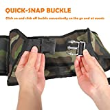 Ohuhu Beer & Soda 6-Can Holster Belt, Perfect for Parties, Picnics, Camping, Hiking and Gift-Giving