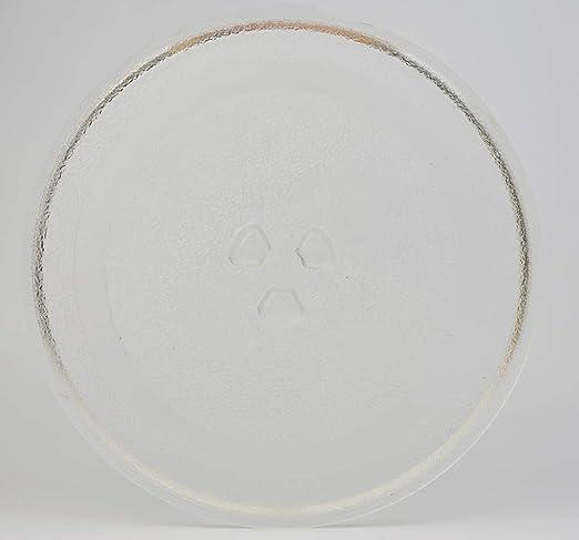 HapWay - Plato giratorio de cristal para microondas de 24,5 ...