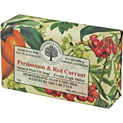 Wavertree & London Persimmon & Red Currant luxury soap (1 bar)