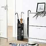 SONGMICS Metal Umbrella Holder, Umbrella Stand with