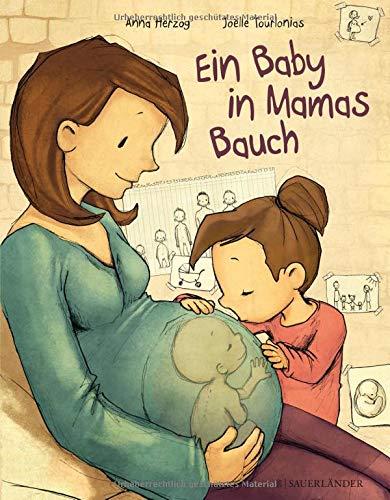 Ein Baby in Mamas Bauch Gebundenes Buch – 20. August 2015 Anna Herzog Joëlle Tourlonias FISCHER Sauerländer 3737352267