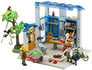 Amazon.com: Playmobil Feeding Station: Toys & Games