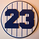 Retired Number 23 Plaque Yankees Don Mattingly - large