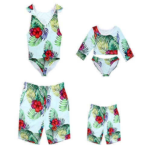 66e5c93c51 Mommy and Me Family Matching Swimsuit