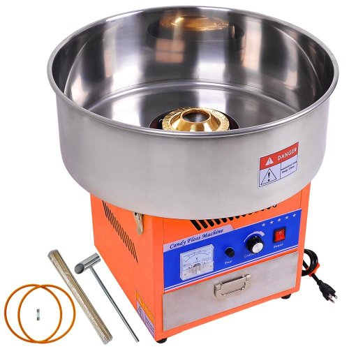 NEW Tabletop Concession Gen III Commercial 1050W Orange Electric Cotton Candy Maker Machine