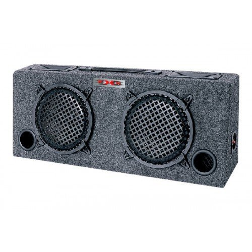 NEW xXx KIC80 2) 8'' Car Audio Subwoofers Subs + Box Enclosure + 5'' Tweeters