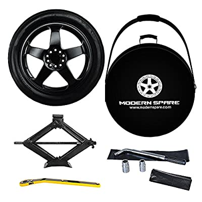 2008-2018 Dodge Challenger Complete Spare Tire Kit With Carrying Case – All Trims – Modern Spare