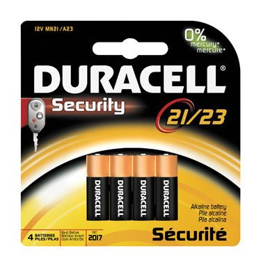 Duracell Battery 12 V Card Of (Best Ace Garage Door Openers)