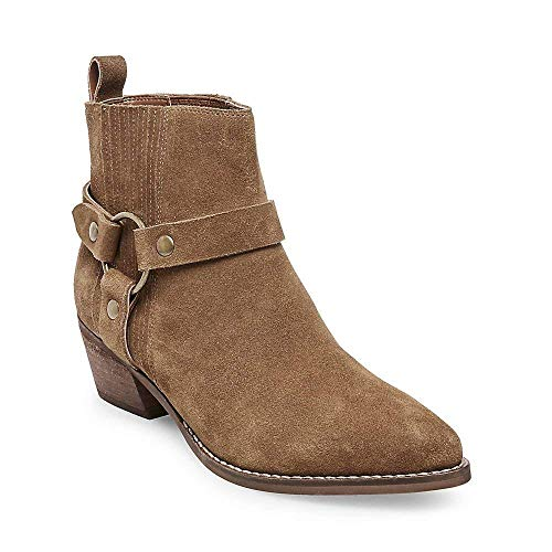 Chestnut Casual Powerful Bootie Madden Women's Suede Steve 9 Us 0 SqftWW
