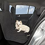 Appleton Pet Care Deluxe Pet Seat Cover Hammock With 2 Bonus Travel Bowls- Easy Installation in Any Automobile Car Truck or SUV, Water Resistant Non Slip Machine Washable Durable Padded and Quilted