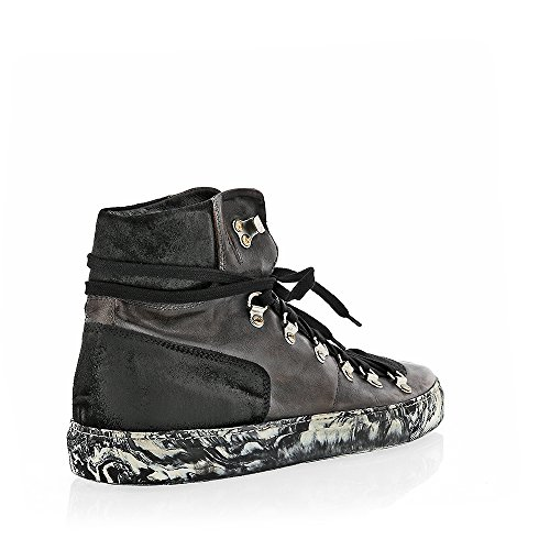 The Original Shoes Grey Lace Up High Top Sneaker by The Original Shoes (Image #2)