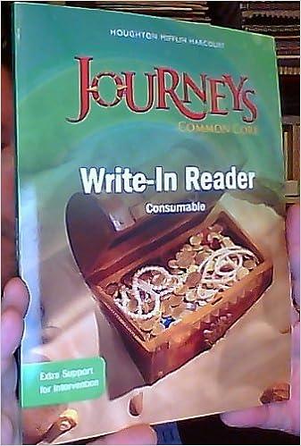 Journeys Write In Reader Volume 1 Grade 1 HOUGHTON MIFFLIN