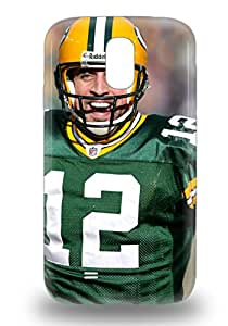 Galaxy S4 Case Cover With Shock Absorbent Protective NFL Green Bay Packers Aaron Rodgers #12 Case ( Custom Picture iPhone 6, iPhone 6 PLUS, iPhone 5, iPhone 5S, iPhone 5C, iPhone 4, iPhone 4S,Galaxy S6,Galaxy S5,Galaxy S4,Galaxy S3,Note 3,iPad Mini-Mini 2,iPad Air )