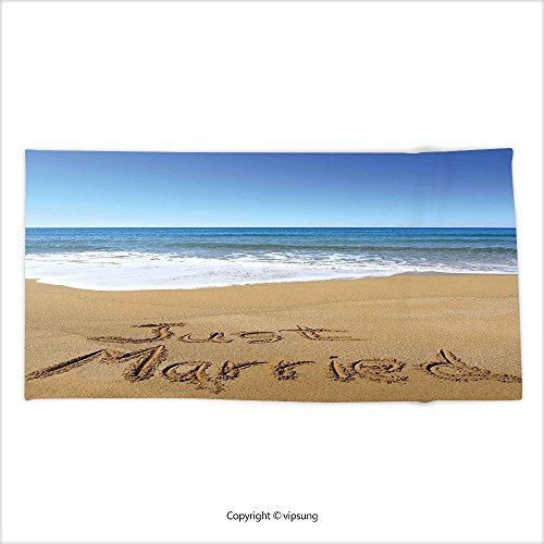 Just Married Beach Towels - 8