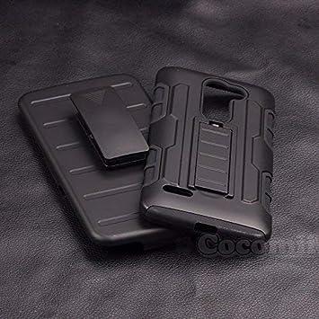 Cocomii Robot Armor LG Ray/Zone Funda Nuevo [Robusto] Superior Funda Clip para Cinturón Soporte Antichoque Caja [Militar Defensor] Cuerpo Completo ...